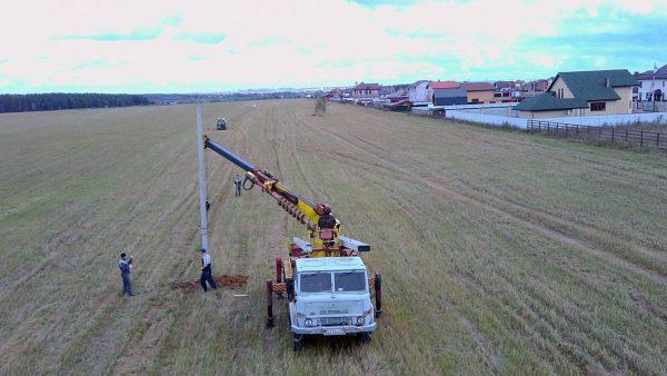 Строительство кабельной линии